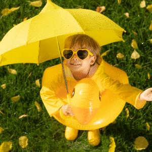 ropa de lluvia para niños