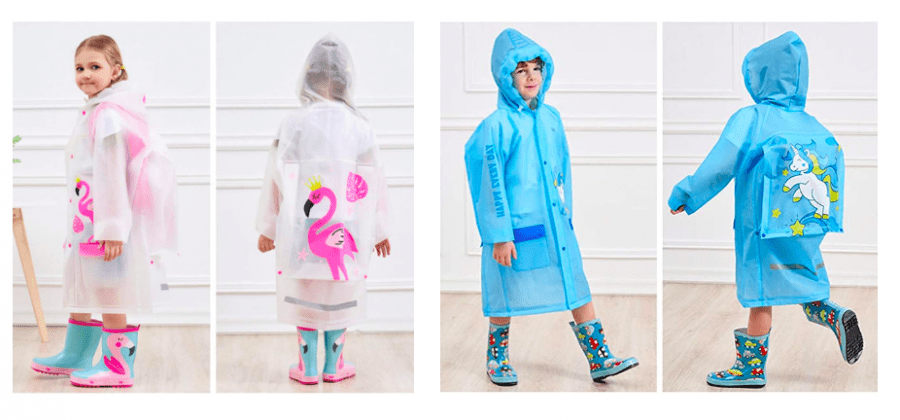mejor traje lluvia niños